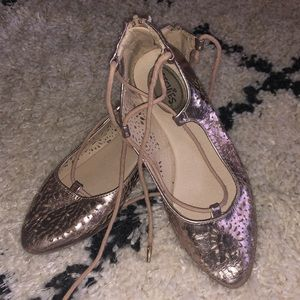 Size 4 Stevies Rose gold